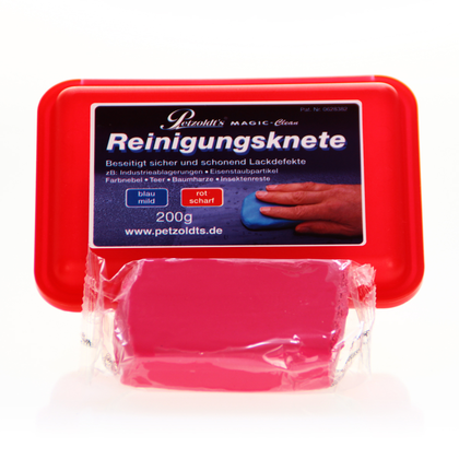 Magic Clean Reinigungsknete rot 200 gr.