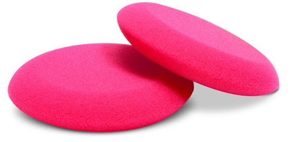 Buff and Shine - Round RED Foam Applicator 1Stk.