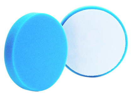 Buff and Shine - Blue Foam Flat Pad Light Polishing 4 / 101mm