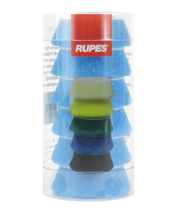 Rupes BigFoot Polierschwamm Coarse blau 30-40mm für iBrid / 6Stk.