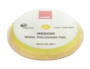 Rupes BigFoot Wool-Pad gelb Medium 150-170mm Einzeln...