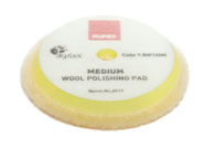 Rupes BigFoot Wool-Pad gelb Medium 130-145mm Einzeln...