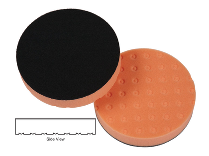 Lake Country CCS 4 Light Cutting Pad (orange 101mm)