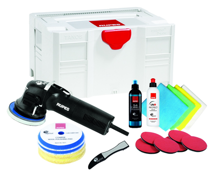 Rupes Duetto LHR 12E Exzenterpolierer Systainer Renovation Box Kit