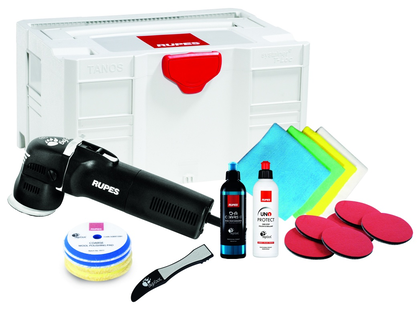 Rupes BigFoot LHR 75E Mini Exzenterpolierer Systainer Renovation Box Kit